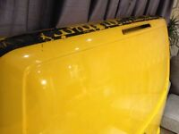 VW T5 Tailgate with Dents REPAIRABLE
