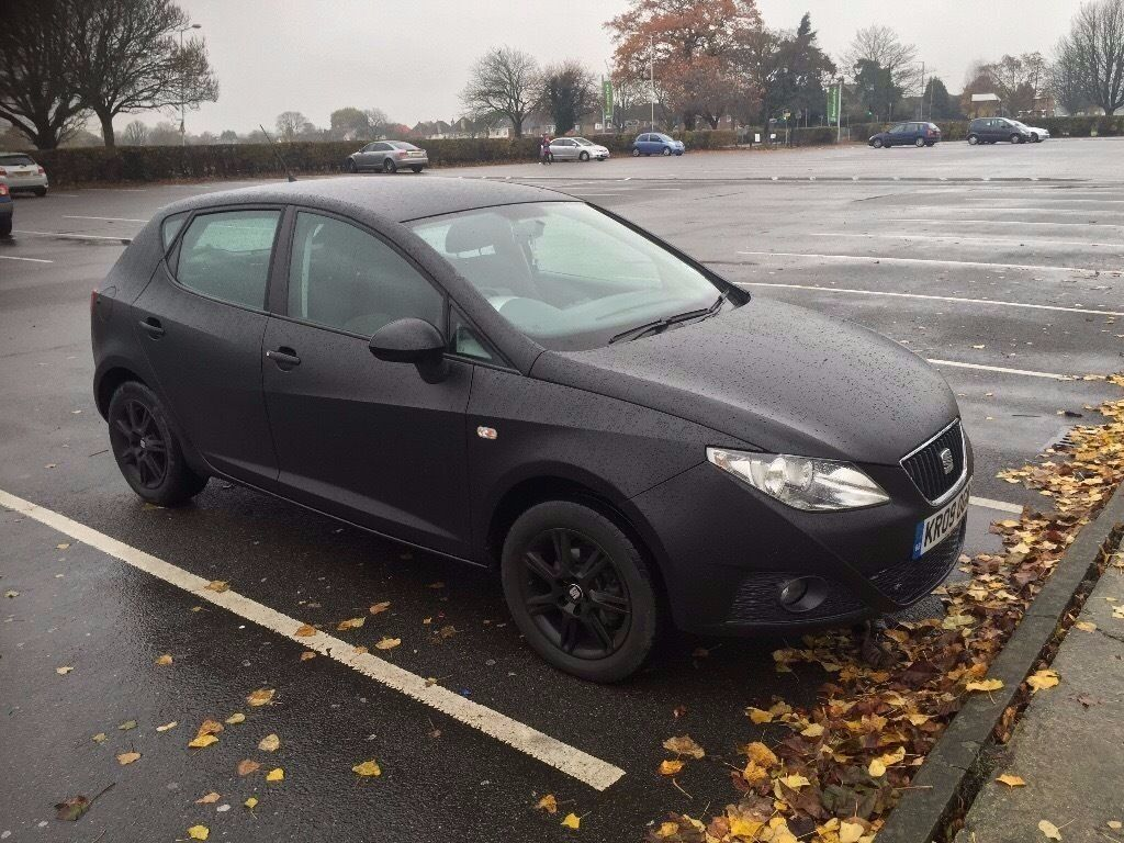 Seat Ibiza 1.4 SE Matte Black
