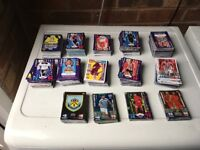 Huge match attax collection hundreds of cards