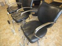 STYLISH HAIR SALON BEAUTY BARBER HYDRAULIC CHAIRS NEVER USED