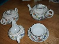 Genuine Chinese tea and dinner service