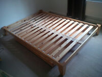 Double Futon Bed Base with Underbed Storage