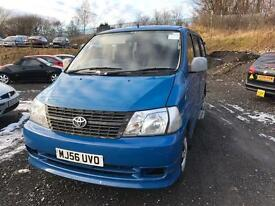 Toyota Hiace 8 seater 2.5 diesel disability access