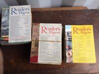 Job lot of Vintage Readers Digest Magazines