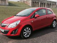 Vauxhall corsa 2012 cheap road tax and insurance