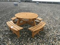 GARDEN PICNIC TABLES. 3 picnic tables for sale . All in great condition.