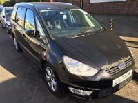 2013 FORD GALAXY ZETEC. BRILLIANT DRIVE. C/D PLAYER. CLIMATE CONTROL A/C. E/W. 3 MONTHS WARRANTY.