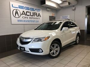 2015 Acura RDX TECH | OFFLEASE | UTILITYPKG | BOUGHT+SERVICEDHER