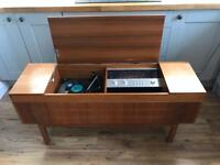Vintage Alba 9080 Stereogram (1978) with BSR Turntable record player