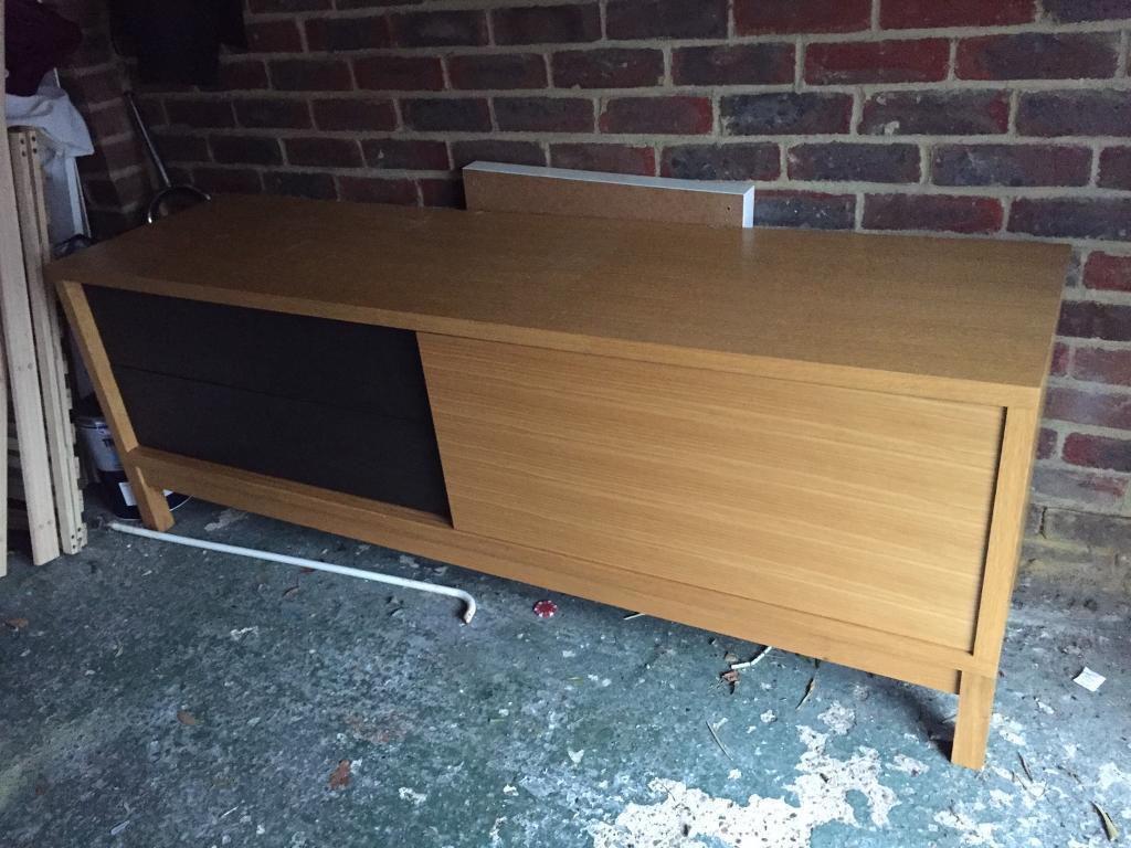 Large solid TV Unit / Sideboard Cabinet