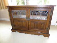 Old Charm Light Oak TV Cabinet