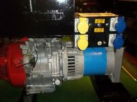 6KVA GENUINE HONDA GENERATOR,WITH LOW OIL AUTOMATIC SHUTDOWN,VERY LOW HOURS WITH HIGH CAPACITY TANK