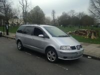 Seat Alhambra 2.0 Tdi sports 2008 plate long mot long Pco perfect driver