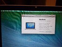 Late 2008 Macbook 13 inch 160gb HD with 2GB RAM Unibody NVIDIA GeForce 9400M £175 ONO