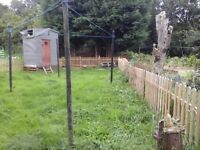 140 ft fencing
