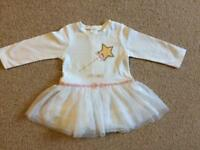 New baby girl angel with wings dress, perfect for Christmas, 3-6 month