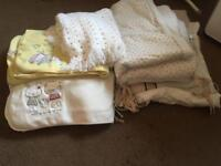 Baby blanket and cot bedding