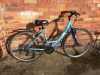 Ladies Apollo Hybrid city bike six speed 19; frame 700c wheels - can deliver - York area Free