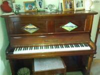 Quality upright piano.