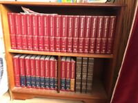 Full set of Britannia encyclopaedia
