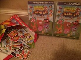 Moshi monster binders/cards