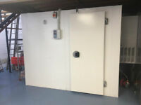 REDUCED - Frigor Box Lockable Walk-In Cold Store Room Chiller and Shelving