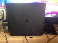 PS4 SLIM 1TB with Controller + 30 games