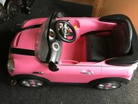 Ride on Childs Mini Cooper Car