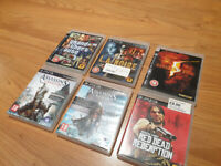 6 x PS3 video games