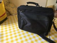 Black laptop case for laptop and/orA4 Documents