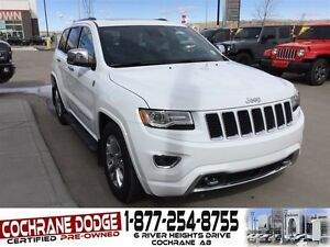 2015 Jeep Grand Cherokee Overland ECODIESEL W/EXTENDED WARRANTY!