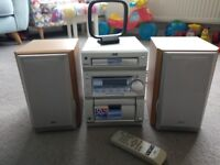 Stereo system JVC UX-P55 60Wx2 in immaculate condition