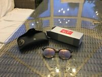 Ray-Ban Clubmaster Sunglasses (RB3016 Large) Brown - Gold