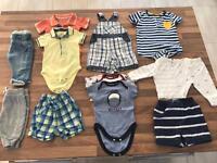 Boys 0 - 3 Months - Clothes Bundle Summer