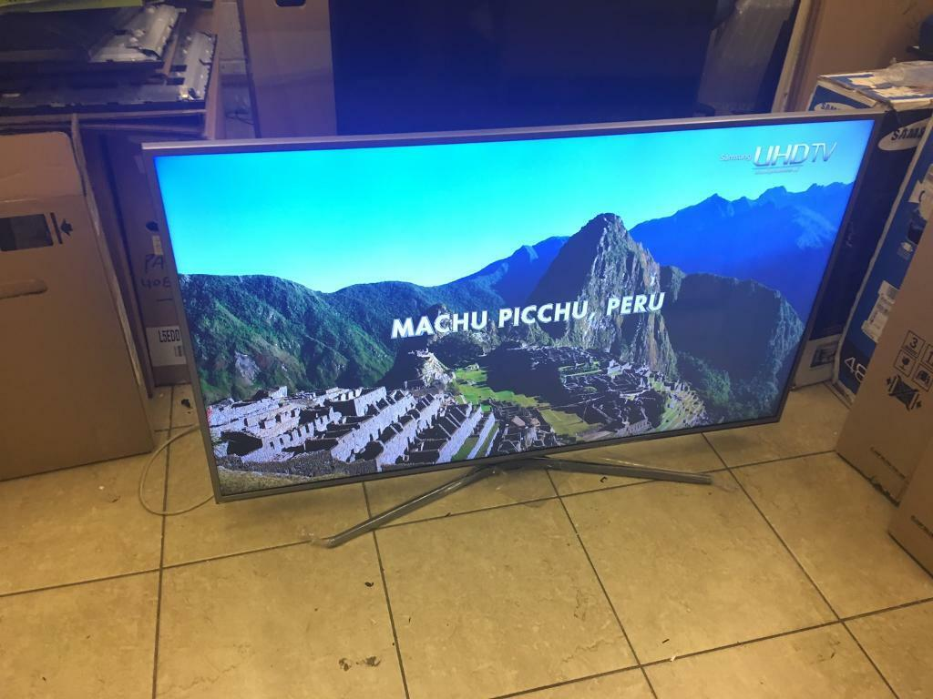 "Samsung 55"" smart 4k Nano Crystal Display Apps wifi 