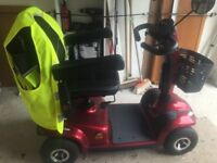 Invacare Leo Ruby Red Mobility Scooter