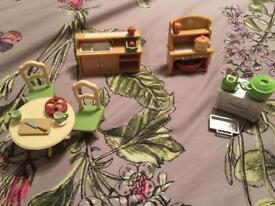 Sylvanian Kitchen Set