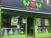 Cake & Dessert parlour/ ice cream shop for sale in busy high road