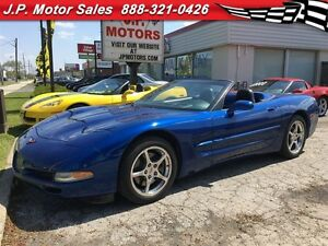 2002 Chevrolet Corvette Automatic, Leather, Convertible, Only 94