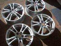 "4x Alloy wheels 17"" from Jaguar XF 2012, Brand new condition"