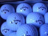24 CALLOWAY SUPERSOFT GOLF BALLS. PICK UP ONLY.