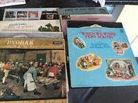 Vinyl records, singles & LP's...mixed genres