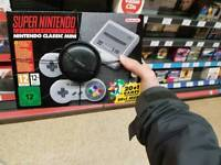Nintendo SNES Mini Band New