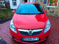 ~~QUICK SALE~~ 09 VAUXHALL CORSA RED 1.2 PETROL micra vxr bmw astra audi golf car ford micra peugeot