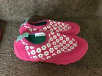 Girls swimming pool / beach shoes size 7