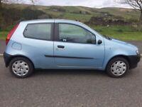 Fiat, PUNTO, Hatchback, 2000, Manual, 1242 (cc), 3 doors