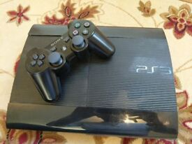 Sony PS3 slim 500GB with 12 games
