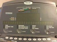 Precor C966i treadmill type used in gyms has had limited family us e