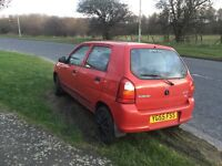 Suzuki Alto 2005 1litre 5 door hatch