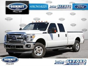 2012 Ford Super Duty F-250 SRW XLTCrewCab|6.2L Gas|8 Foot Box